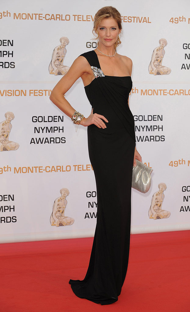 Tricia Helfer attends the closing ceremony of the 2009 Monte Carlo Television Festival at Grimaldi Forum on June 11, 2009 in Monte-Carlo, Monaco.