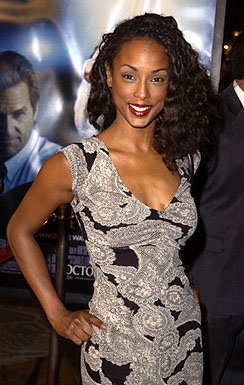 "Premiere: ""Boy Meets World"" star Trina McGee Davis at the Westwood premiere of K-Pax - 10/22/2001"