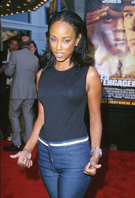 Premiere: Trina McGee-Davis at the Mann Village Theare premiere of Paramount's Rules Of Engagement in Westwood, CA - 4/2/2000
