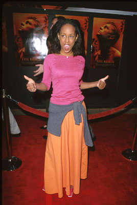 "Premiere: Trina McGee-Davis of ""Boy Meets World"" at the premiere of 20th Century Fox's The Beach - 2/2/2000"