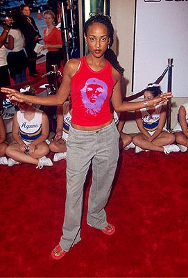 Premiere: Trina McGee Davis at the Mann Bruin Theater premiere of Universal's Bring It On - 8/22/2000