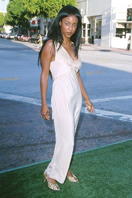 Premiere: Trina McGee Davis at the Mann's Village Theatre premiere of Warner Brothers' The Replacements - 8/7/2000