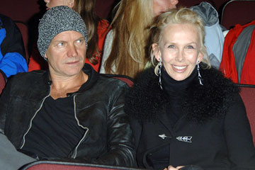 Sting and Trudie Styler Friends With Money Premiere - 1/19/2006 2006 Sundance Film Festival