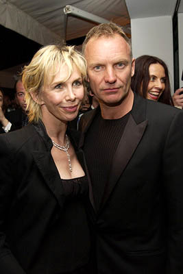 Trudie Styler and Sting De Grisogno Dinner Cannes Film Festival - 5/19/2002