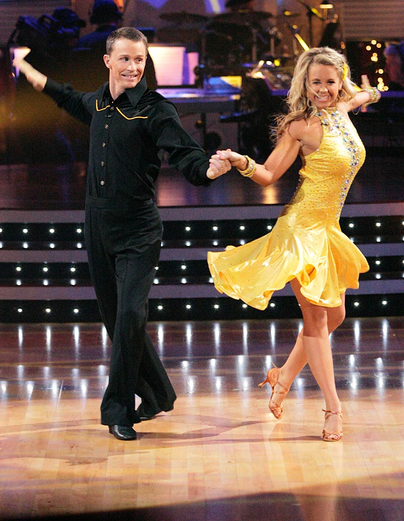 "Ty Murray and Chelsie Hightower perform the Cha-cha to ""Train in Vain"" by The Clash on ""Dancing with the Stars."""