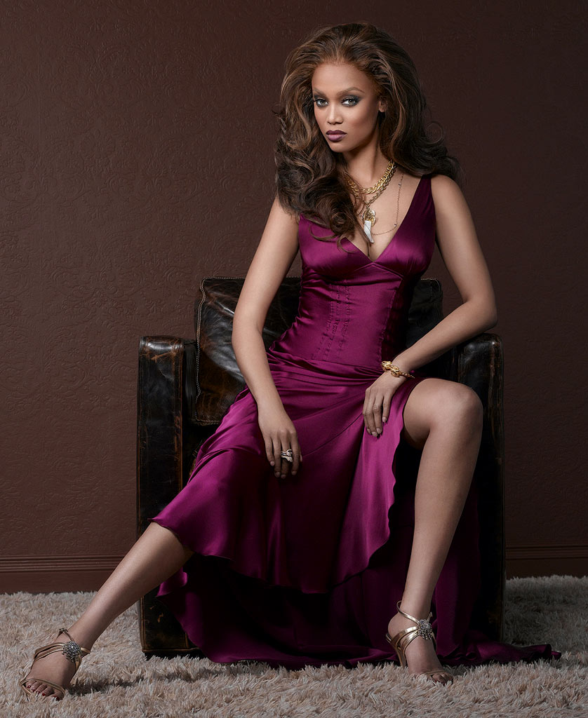 Tyra Banks featured as Executive producer and host of America's Next Top Model on The CW.