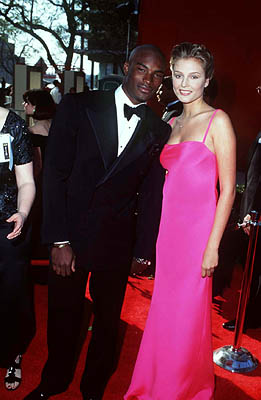 Tyson Beckford and Bridget Hall 68th Academy Awards Los Angeles, CA 3/25/1996