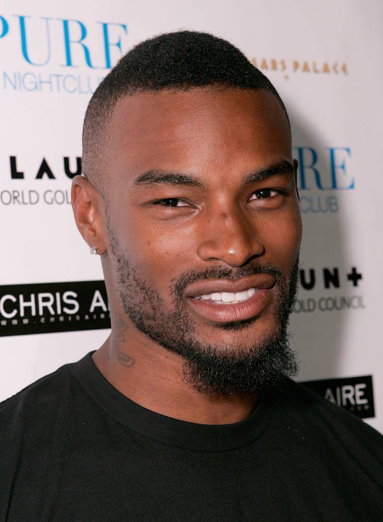 Tyson Beckford at the Chris Aire Fashion Show at Pure Nightclub.