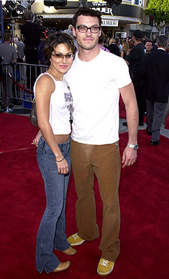 Premiere: Vanessa Marcil and Brian Austin Green at the Westwood premiere of Paramount's Lara Croft: Tomb Raider - 6/11/2001