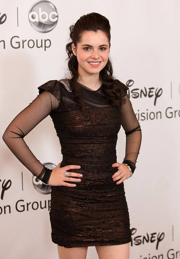 "Vanessa Marano of ""Switched At Birth"" attends the Disney ABC Televison Group's 'TCA 2001 Summer Press Tour' at the Beverly Hilton Hotel on August 7, 2011 in Beverly Hills, California."