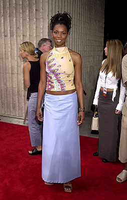 Premiere: Vanessa Williams at the Westwood premiere of Dimension's Scary Movie 2 - 7/2/2001