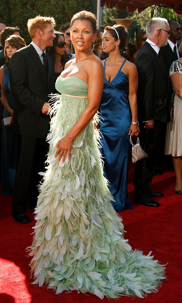 Vanessa Williams arrives at the 59th Annual Primetime Emmy Awards at the Shrine Auditorium on September 16, 2007 in Los Angeles, California.