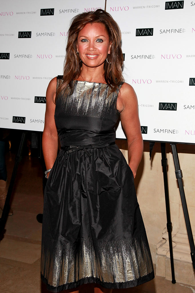 "Vanessa Williams attends the launch party for Sam Fine's ""The Basics of Beauty"" DVD at The Warren Tricomi Salon At The Plaza Hotel on June 18, 2009 in New York City."