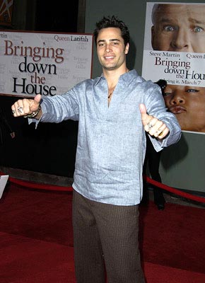 Premiere: Victor Webster at the LA premiere of Touchstone's Bringing Down the House - 3/2/2003