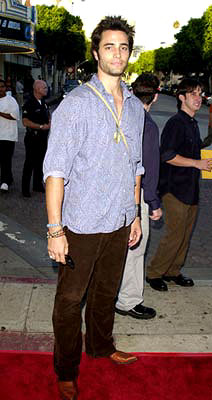 Premiere: Victor Webster at the Westwood premiere of Warner Brothers' American Outlaws - 8/14/2001