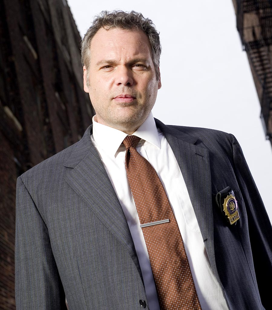 Vincent D'Onofrio stars as Robert Goren in Law & Order: Criminal Intent on NBC.