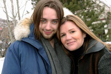 "Vincent Kartheiser and Mare Winningham ""Dandelion"" - 1/16/2004 Sundance Film Festival"