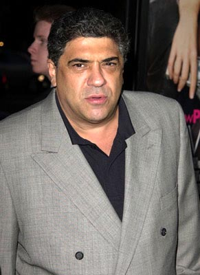 Premiere: Vincent Pastore at the Beverly Hills premiere of Paramount's Serving Sara - 8/20/2002