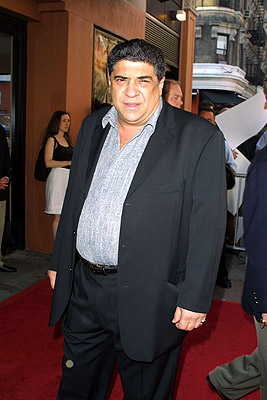 Premiere: Vincent Pastore at the New York premiere of Artisan's Made - 7/10/2001