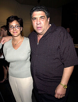 Premiere: Vincent Pastore at the New York premiere of Paramount's The Score - 7/11/2001