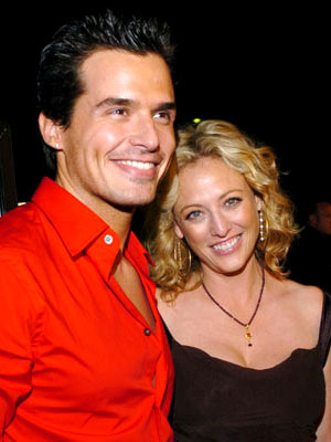 Premiere: Antonio Sabato Jr. and Virginia Madsen at the Beverly Hills premiere of Fox Searchlight's Sideways - 10/12/2004