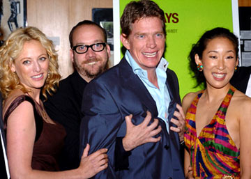 Premiere: Virginia Madsen, Paul Giamatti, Thomas Haden Church and Sandra Oh at the Beverly Hills premiere of Fox Searchlight's Sideways - 10/12/2004