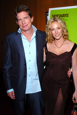 Premiere: Thomas Haden Church and Virginia Madsen at the Beverly Hills premiere of Fox Searchlight's Sideways - 10/12/2004