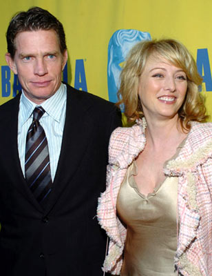 Thomas Haden Church and Virginia Madsen BAFTA/LA Tea Party - 1/15/2005 Park Hyatt Hotel, Los Angeles, CA