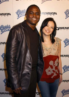 Premiere: Wayne Brady and wife at the LA premiere of Dimension's Scary Movie 3 - 10/20/2003