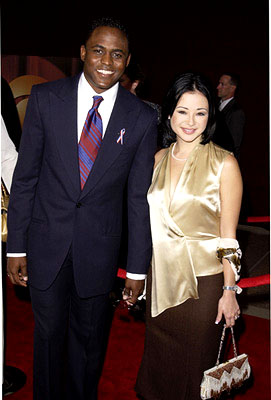 Wayne Brady and wife Mandie 53rd Annual Emmy Awards - 11/4/2001