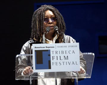 Whoopi Goldberg Tribeca Film Festival, 5/11/2003