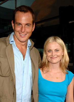 Premiere: Will Arnett and Amy Poehler at the Hollywood premiere of Universal Pictures' The 40-Year-Old Virgin - 8/11/2005