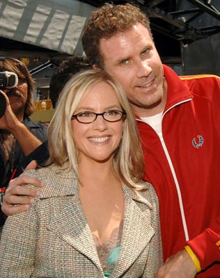 Premiere: Rachael Harris and Will Ferrell at the Universal City premiere of Universal Pictures' Kicking & Screaming - 5/1/2005