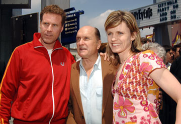 Premiere: Will Ferrell, Robert Duvall and Vivica Ferrell at the Universal City premiere of Universal Pictures' Kicking & Screaming - 5/1/2005