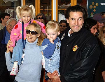 Premiere: Chynna Phillips and William Baldwin at the LA premiere of Universal's Dr. Seuss' The Cat in the Hat - 11/8/2003