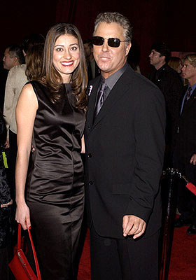 William Petersen and wife 53rd Annual Emmy Awards - 11/4/2001