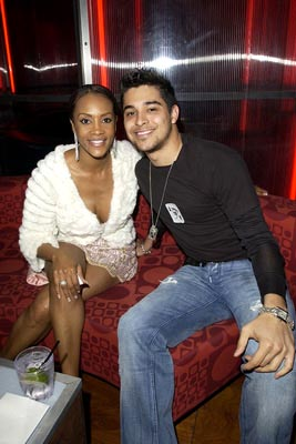 Premiere: Vivica A. Fox and Wilmer Valderrama at the LA premiere of Miramax's Kill Bill Vol. 2 - 4/8/2004