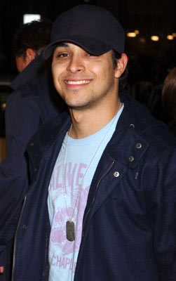 Premiere: Wilmer Valderrama at the Hollywood premiere of New Line Cinema's Blade: Trinity - 12/7/2004