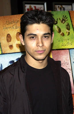 Premiere: Wilmer Valderrama at the New York premiere of Dreamworks' Hollywood Ending - 4/23/2002