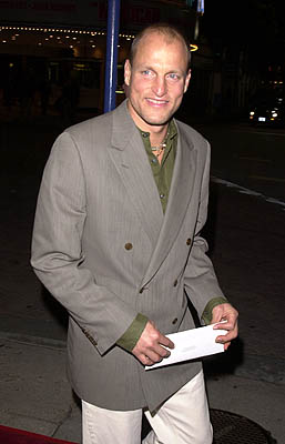 Premiere: Woody Harrelson at the Westwood premire of 20th Century Fox's Say It Isn't So - 3/12/2001