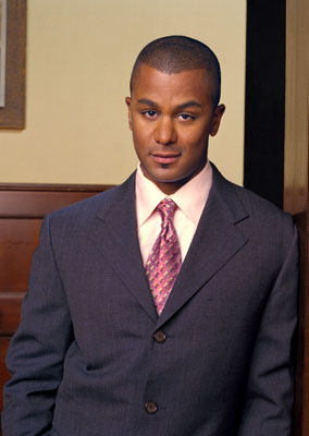 Yanic Truesdale as Michel Gerard in WB's Gilmore Girls