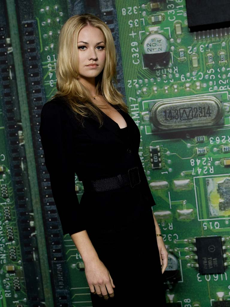 Yvonne Strahovski stars as Sarah Walker in Chuck.