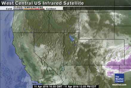 West Central U.S. Satellite