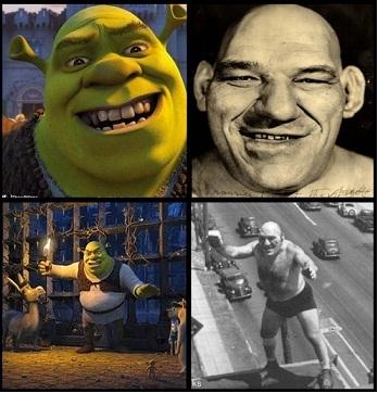 El 'Shrek' de la vida real Todo-parece-indicar-que-la-compania-DreamsWorks-se-inspiro-en-Maurice-Tillet-para-crear-el-personaje-de-Shrek-Wikimedia-Commons-magasotk