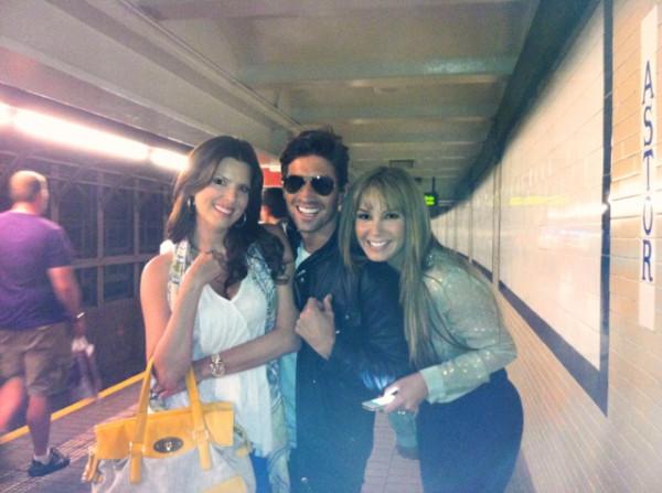 Maritza Rodríguez, David Chocarro y Elizabeth Gutierrez