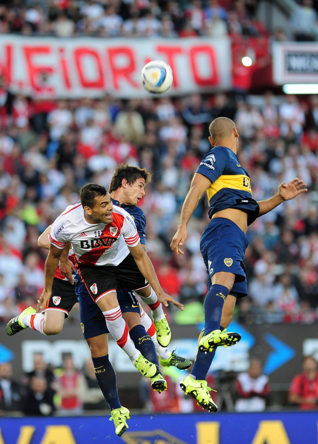 River Plate 0-1 Boca Jrs.   Las mejores fotos