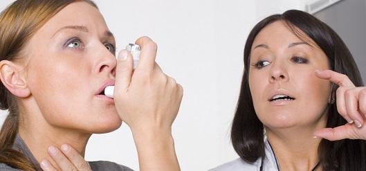 Cómo actuar ante una crisis de asma
