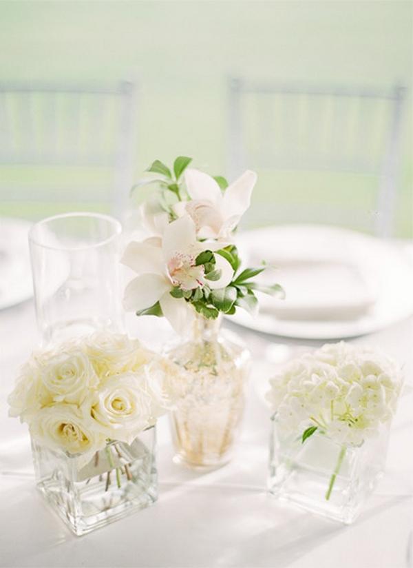 centros de flores para 6 tipos de bodas
