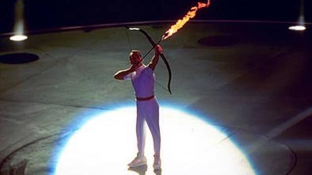 Barcelona 92 Antorcha Olímpica