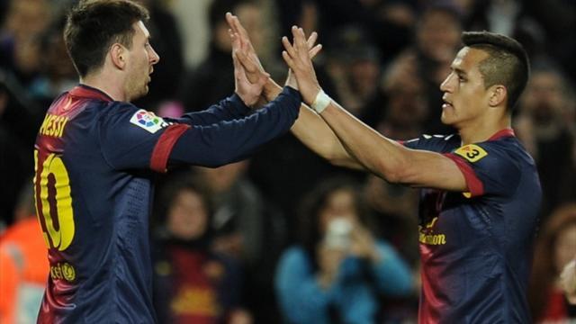 FC Barcelona 2-0 Deportivo Coruña